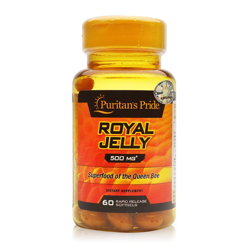 Viên uống sữa ong chúa Puritan's Pride Royal Jelly 500mg