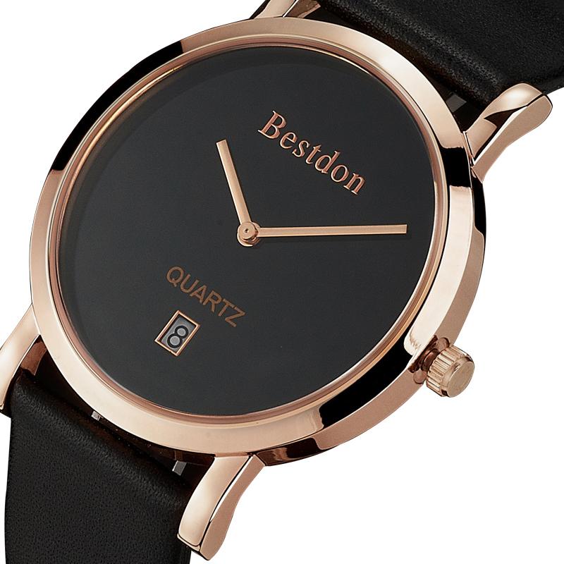 Đồng hồ nam siêu mỏng Bestdon BD9951AG - cỡ nhỏ