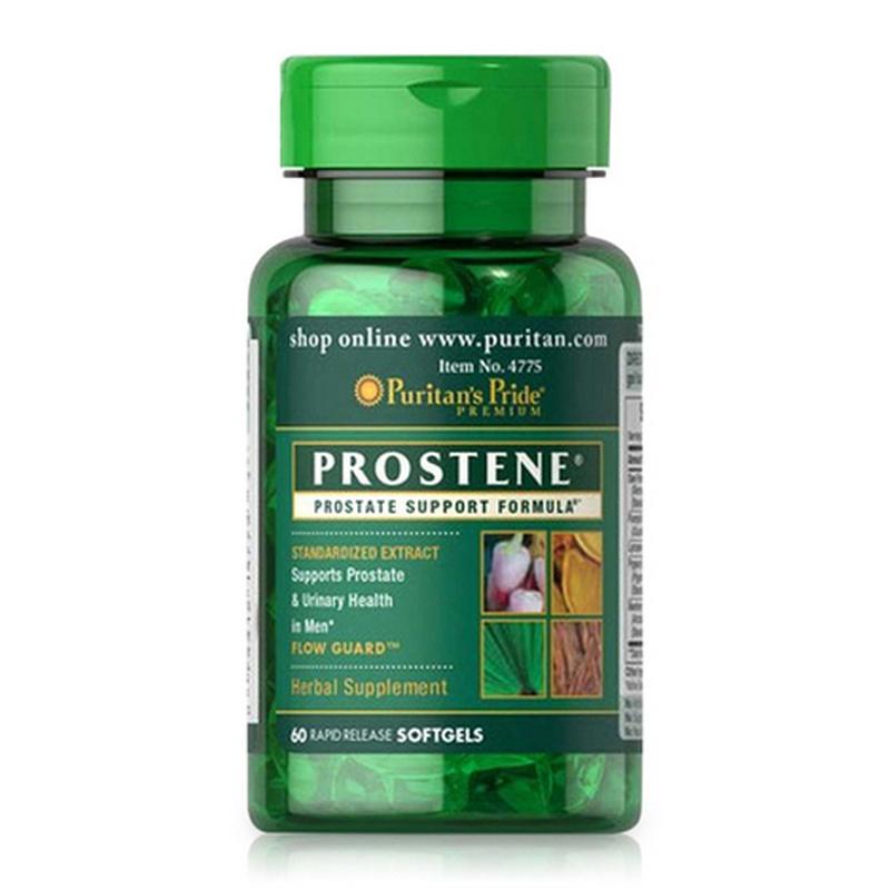Viên uống hỗ trợ tiền liệt tuyến Puritan's Pride Premium Prostene Prostate Support Formula 60 viên