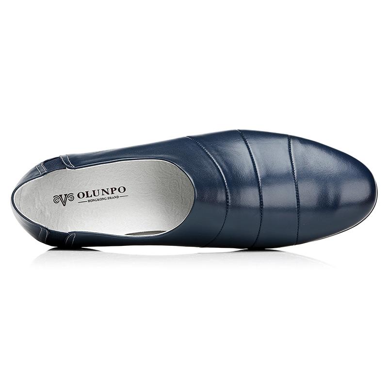 Giày lười nam da mềm Olunpo CCY1505