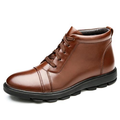 Giày nam cao cổ Olunpo WPH020 đế cao cao cấp