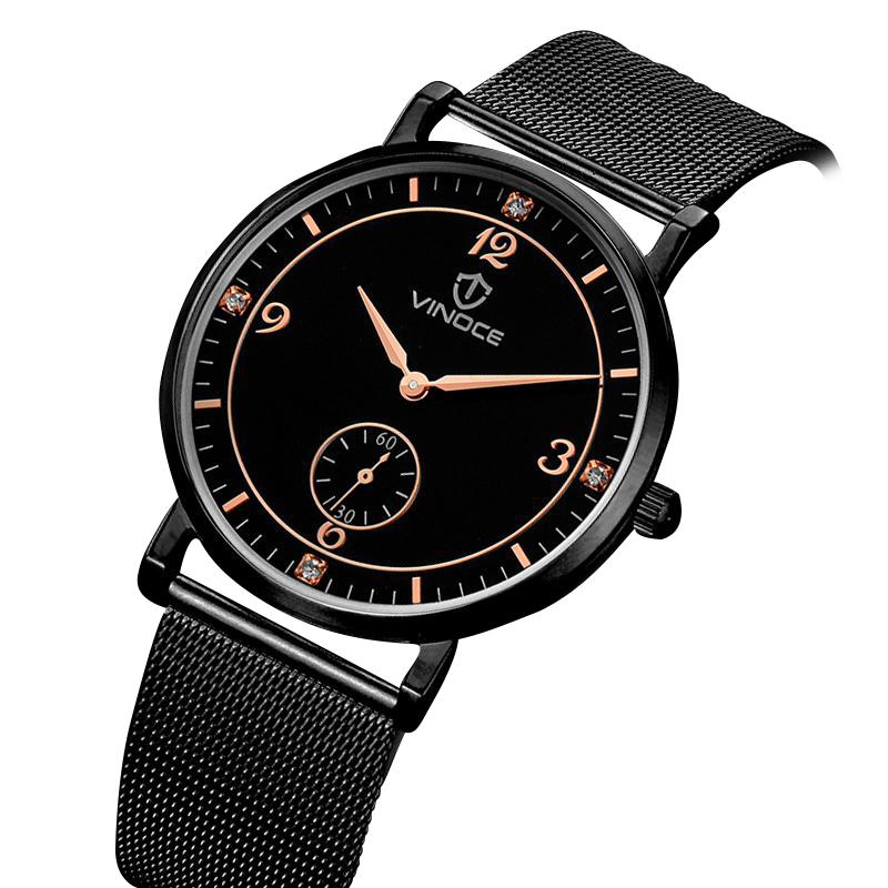 Đồng hồ siêu mỏng nam Gentle Vinoce