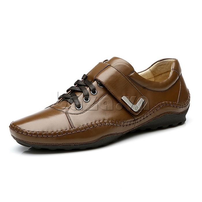 giày nam Olumpo QABA1214 xứng đáng là người bạn song hành của phái nam