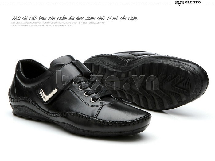 giày nam Olumpo QABA1214 đều được chăm chút tỉ mỉ và cẩn thận