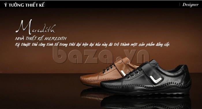 Ý tưởng thiết kế của giày nam Olumpo QABA1214