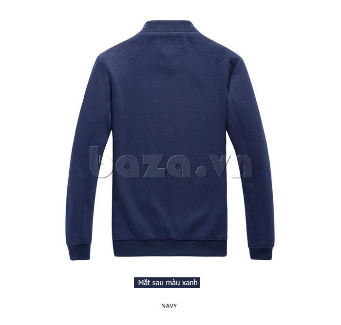 Áo jacket nam dáng ngắn No1Dara WT10032 màu xanh