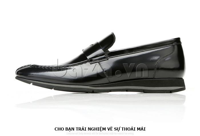 Giày da nam Olunpo QHT1431  cho bạn những trải nghiệm mới