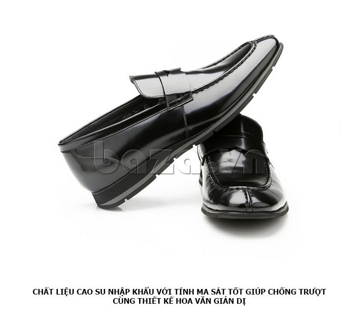 Giày da nam Olunpo QHT1431  cao cấp