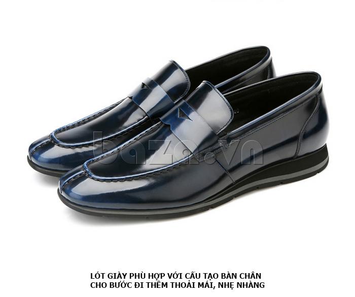 Giày da nam Olunpo QHT1431  nâng niu bước chân