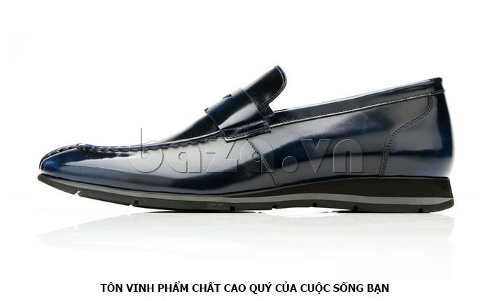 Giày da nam Olunpo QHT1431  tôn vinh phẩm chất quý ông