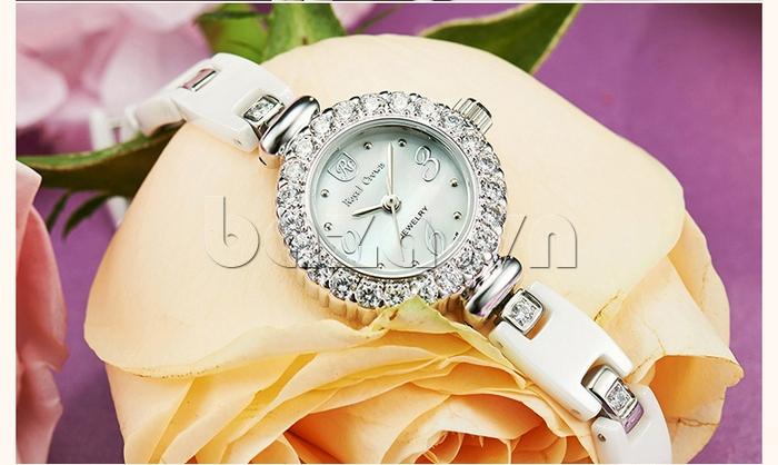 Đồng hồ nữ thời trang Royal Crown 63806C