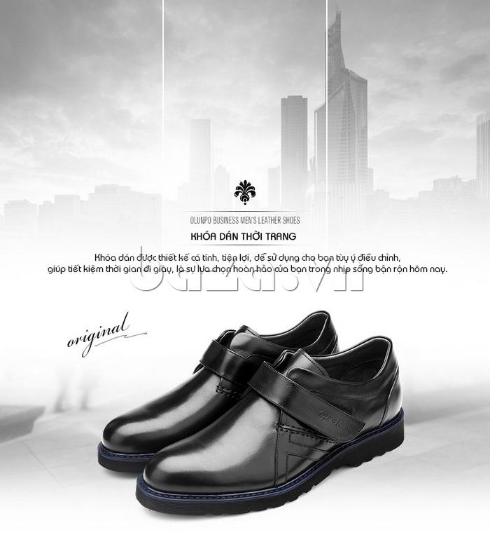 Thiết kế giày kiểu khóa dán thời trang, cá tính
