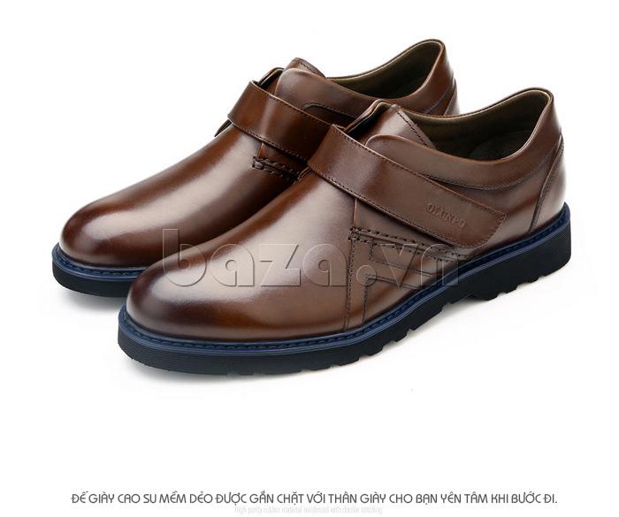 Đế giày cao su cao cấp, chống mài món, tính đàn hổi lớn, giảm rung động, chống trơn trượt