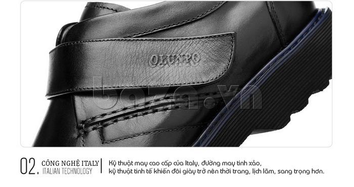 Dòng giày áp dụng kĩ thuật thủ công truyền thống của Italia