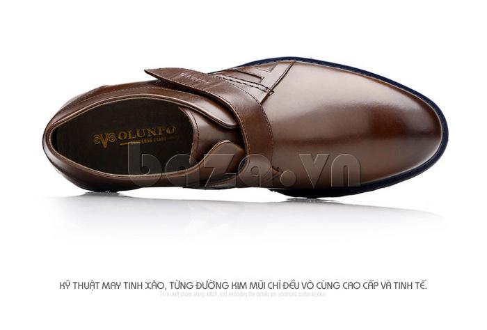 Giày da nam sử dụng những chất liệu cao cấp nhất