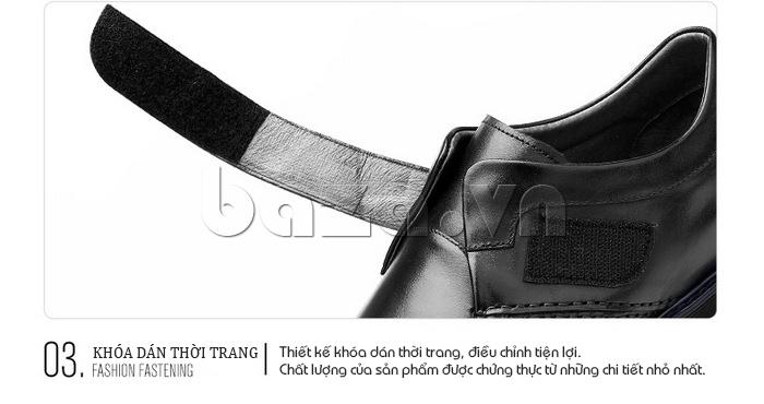 Thiết kế giày khóa dán thời trang, điều chỉnh tiện lợi