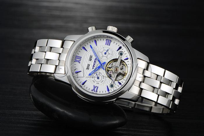 Đồng hồ cơ nam Vinoce 633227 thiết kế bền