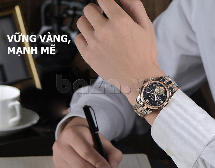 Đồng hồ cơ nam Vinoce 633227 thiết kế đẹp