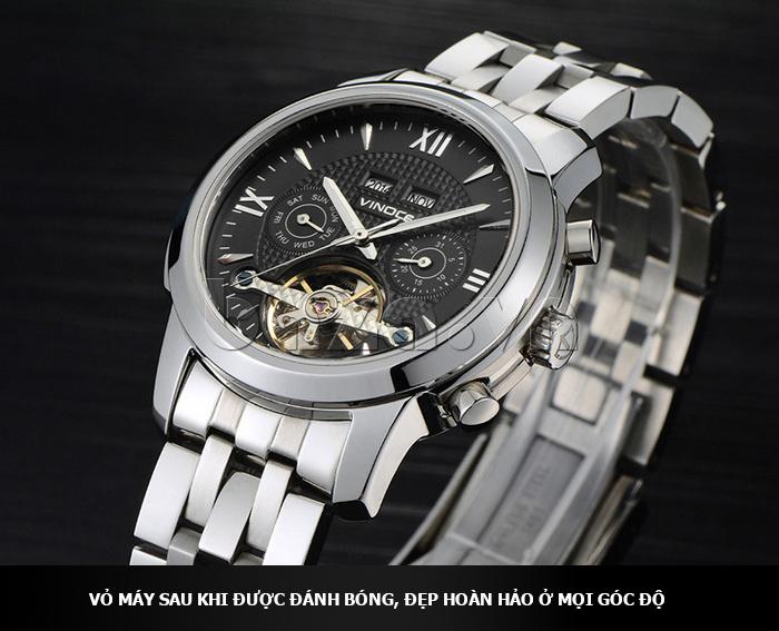 Đồng hồ cơ nam Vinoce 633227 thiết kế tinh tế