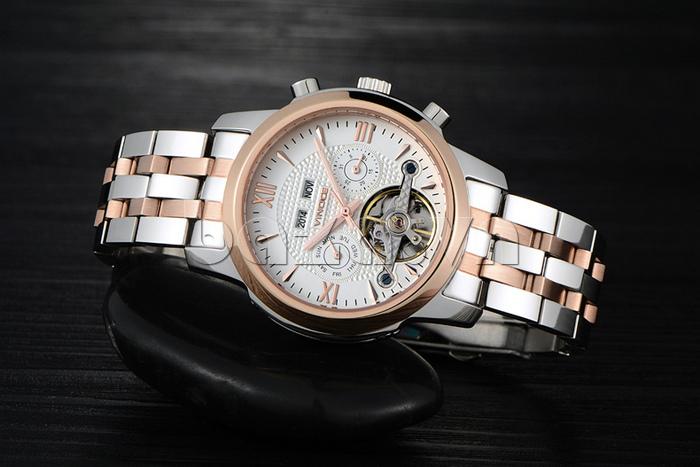 Đồng hồ cơ nam Vinoce 633227 thiết kế chất lượng