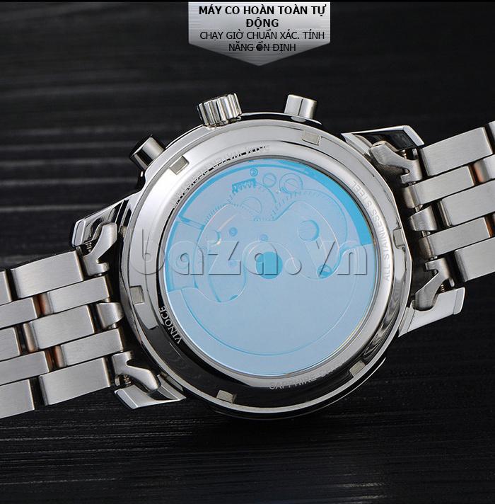Đồng hồ cơ nam Vinoce 633227 hoàn hảo