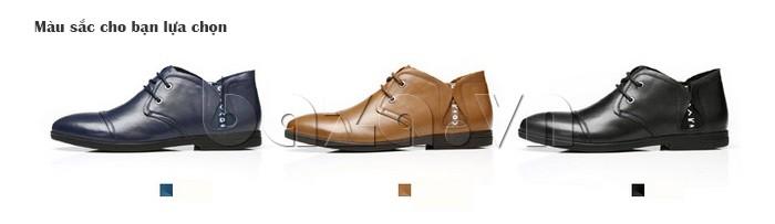 giày nam Olunpo QDT1303 có nhiều màu sắc cho bạn lựa chọn