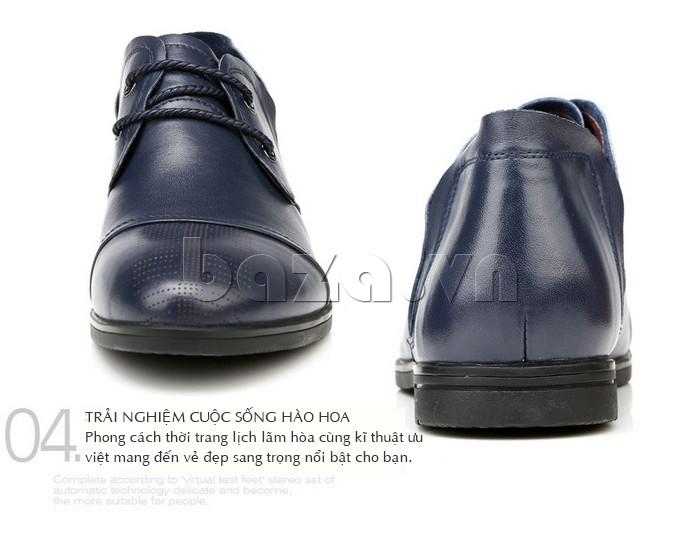 giày nam Olunpo QDT1303 mang thương hiệu độc đáo và cá tính