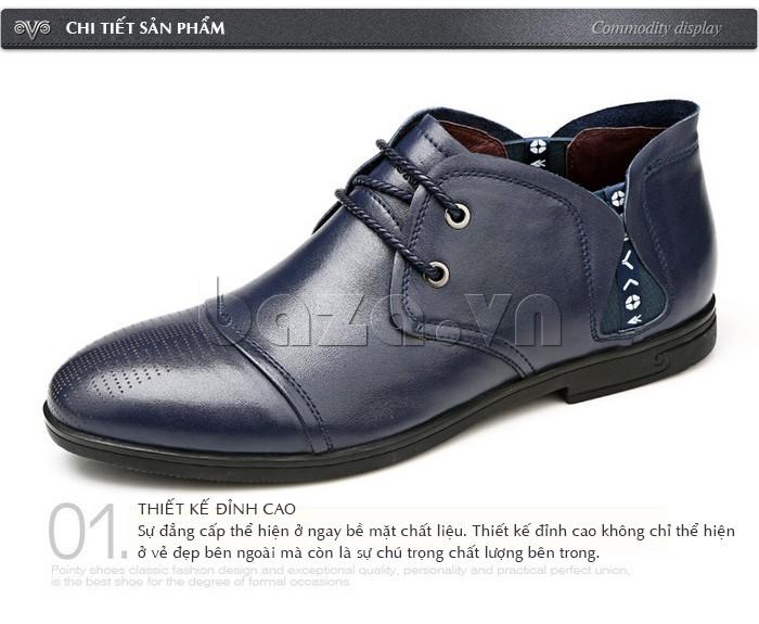 giày nam Olunpo QDT1303 mạnh mẽ và quyền lực