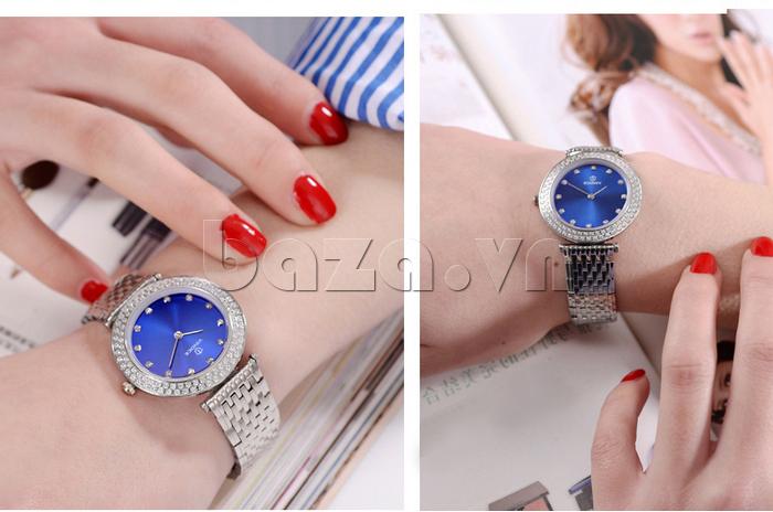 Đồng hồ nữ siêu mỏng Vinoce 6323l nổi bật
