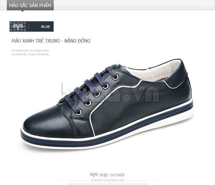 Giày nam Olunpo CZK1501 xanh đẹp