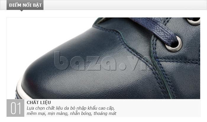 Giày nam Olunpo CZK1501 xanh trẻ trung