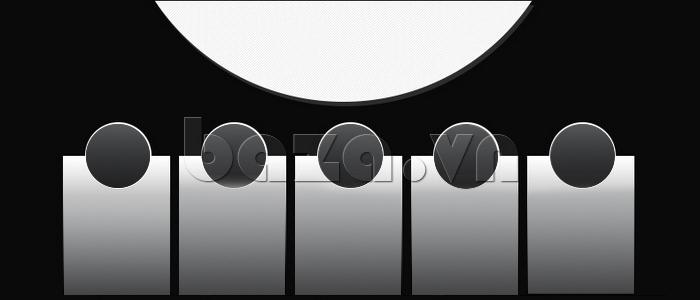 Đồng hồ nam mạnh mẽ Vinoce V6338633 viền khắc số hoàn hảo