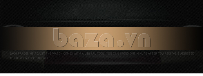 Đồng hồ nam mạnh mẽ Vinoce V6338633 viền khắc số thiết kế hoàn hảo và chất
