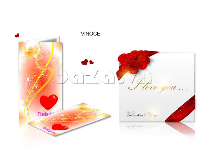 Đồng hồ nữ mặt trái tim Vinoce V633248G có hộp đựng cao cấp
