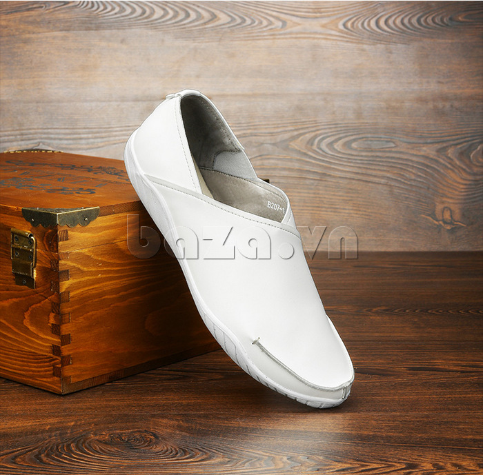 Giày nam Olunpo CYNS1501 màu trắng