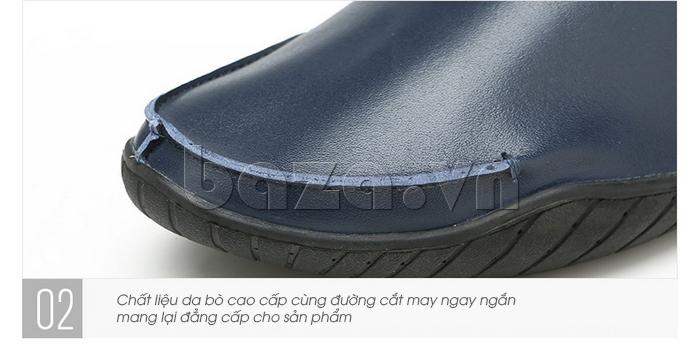 Giày nam Olunpo CYNS1501 xanh ấn tượng