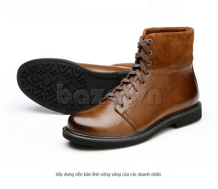 Giày nam cao cổ Olunpo DLY1206 dáng cao cổ