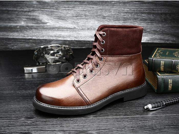 Giày nam cao cổ Olunpo DLY1206 khoe cá tính mạnh mẽ