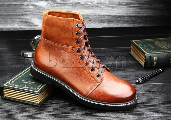 Giày nam cao cổ Olunpo DLY1206 khoe cá tính