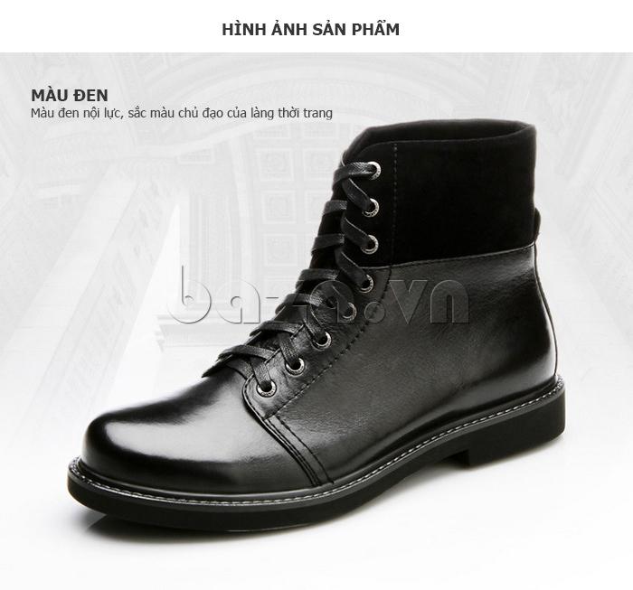 Giày nam cao cổ Olunpo DLY1206 dáng giày công sở