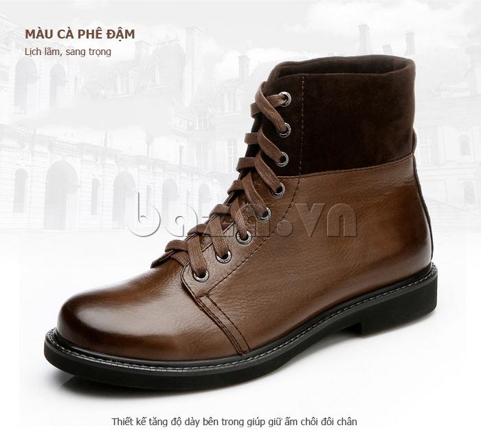 Giày nam cao cổ Olunpo DLY1206 mạnh mẽ
