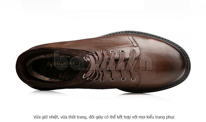 Giày nam cao cổ Olunpo DLY1206 ấn tượng