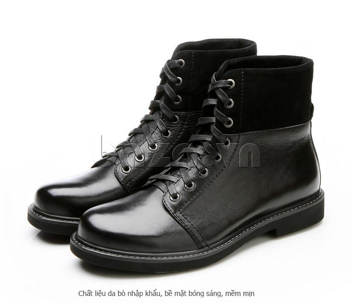 Giày nam cao cổ Olunpo DLY1206 dễ bảo quản