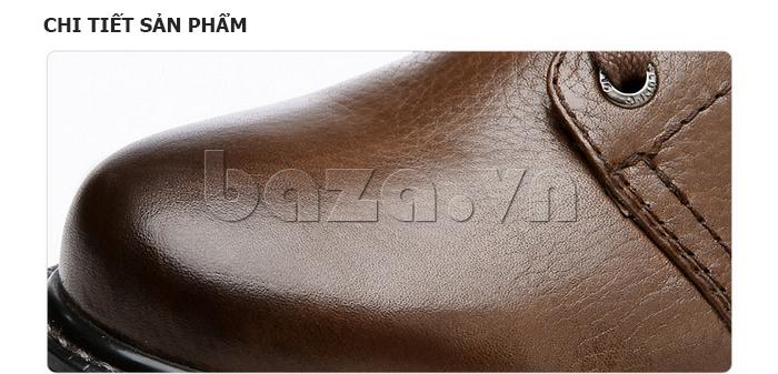 Giày nam cao cổ Olunpo DLY1206 có nhiều ưu điểm