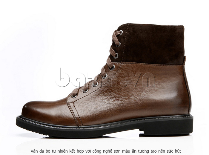 Giày nam cao cổ Olunpo DLY1206 cá tính