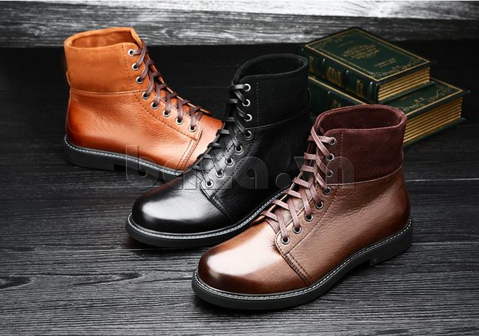 Giày nam cao cổ Olunpo DLY1206 thê hiện phong cách