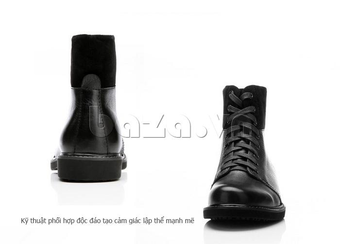 Giày nam cao cổ Olunpo DLY1206 sử dụng kỹ thuật tiên tiến