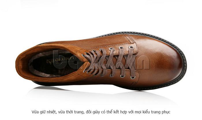 Giày nam cao cổ Olunpo DLY1206 thời trang