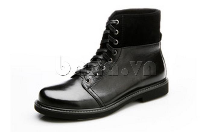 Giày nam cao cổ Olunpo DLY1206 ghi điểm với đối phương