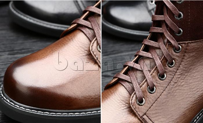 Giày nam cao cổ Olunpo DLY1206 tôn đẳng cấp